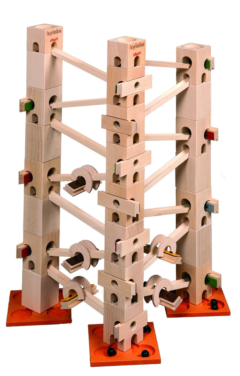Xyloba Marble Run ~ Row, row, row your boat