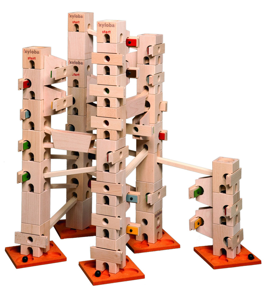 Xyloba Marble Run ~ Oh, when the Saints