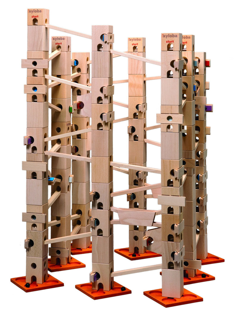 Xyloba Marble Run ~ Silent Night