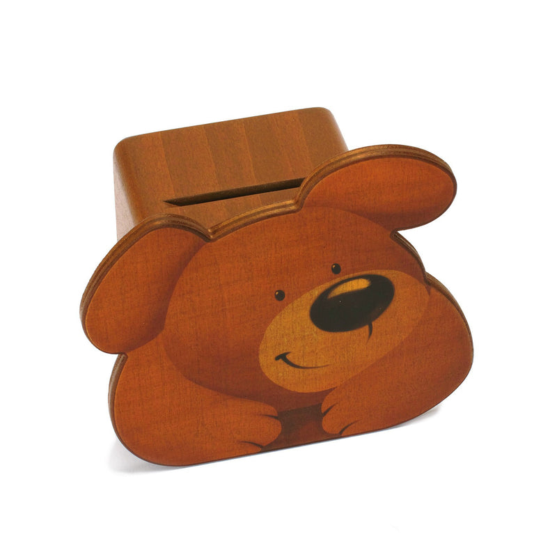 Weizenkorn Money Box, Bear - Da Da Kinder Store