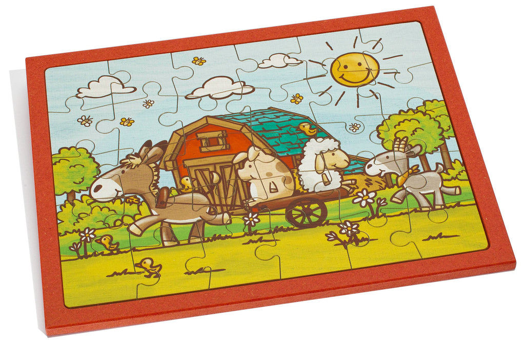 Weizenkorn Puzzle Farm Animals Walk, Big