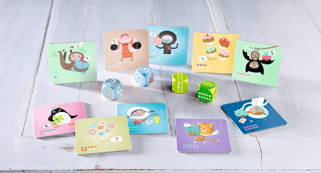 HABA Gift Cube - Crazy Counting Party