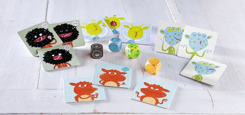 HABA Gift Cube - Monster Facial Expressions