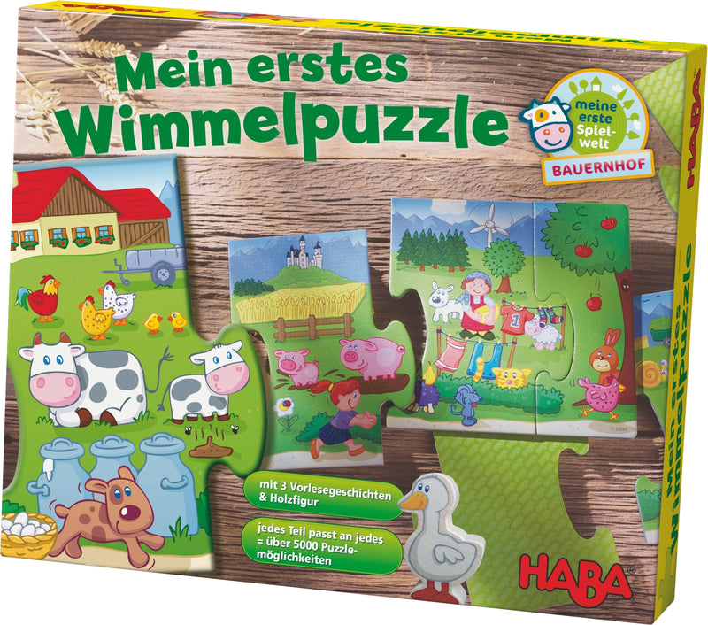 HABA My First Wimmel Puzzle - Farm