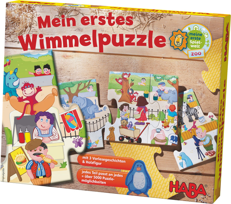 HABA My First Wimmel Puzzle - Zoo