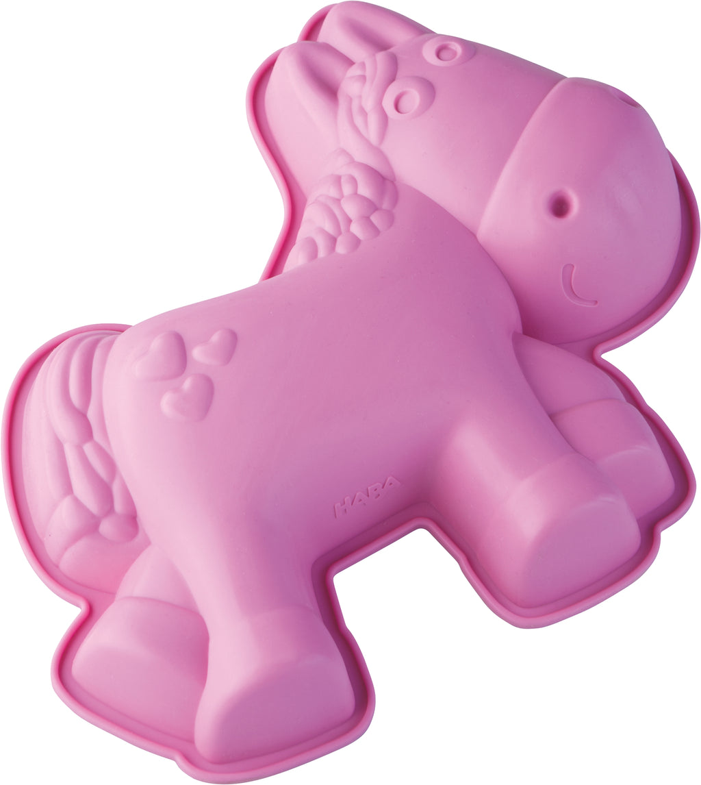 HABA Silicone cake mould Horse Milly
