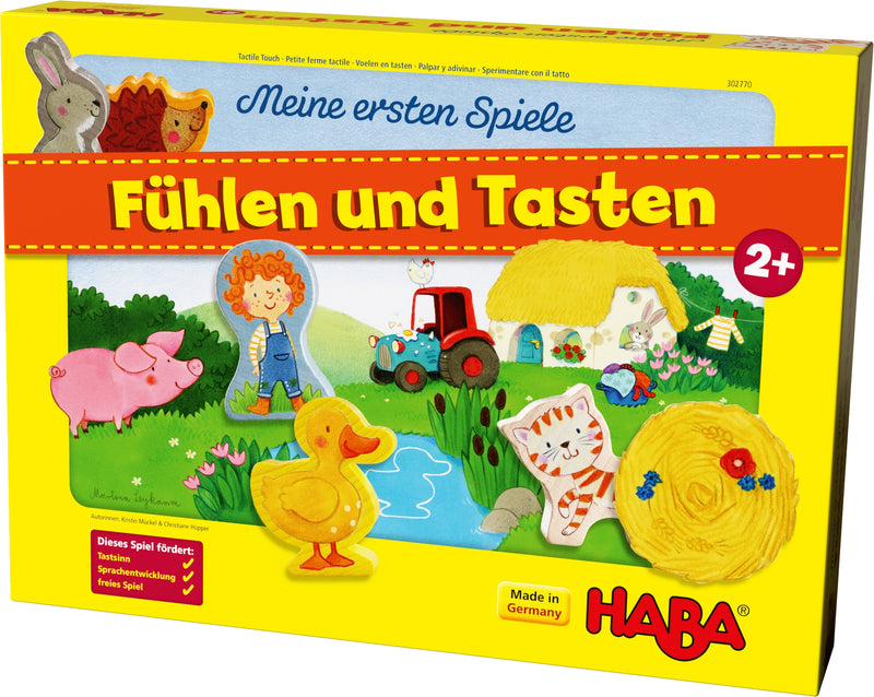 HABA My Very First Games - Tactile Touch! - Da Da Kinder Store