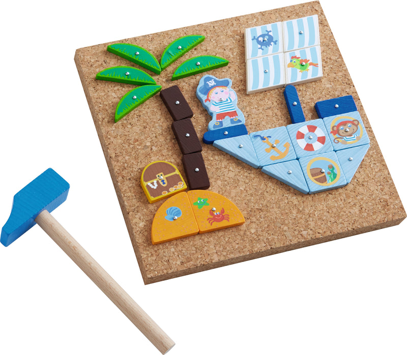 HABA Tack Zap game Pirate ship