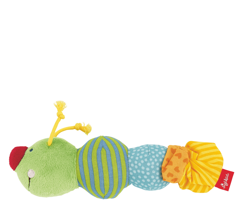 Sigikid Rattle Caterpillar - Da Da Kinder Store