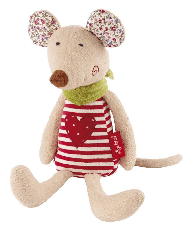 Sigikid Organic Collection Cuddly Mouse - Da Da Kinder Store