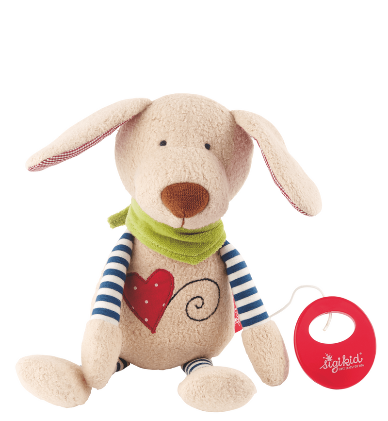 Sigikid Musical Organic Collection Dog - Da Da Kinder Store