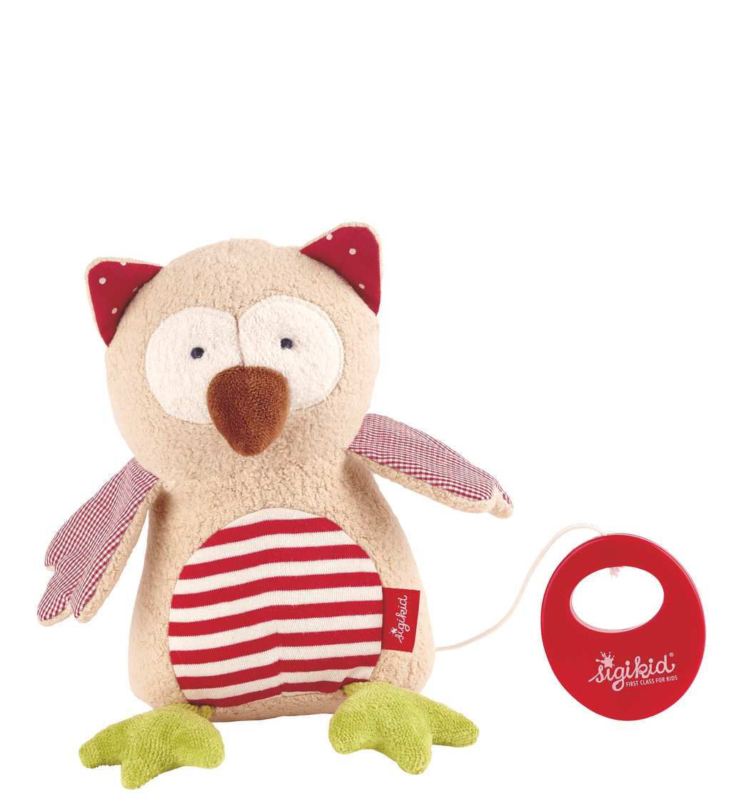 Sigikid Musical Organic Collection Owl
