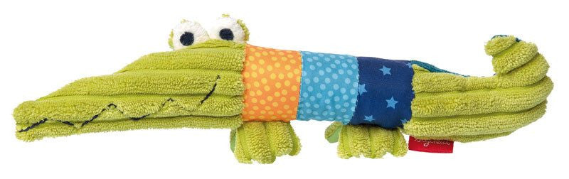Sigikid Play Q Textile Crocodile