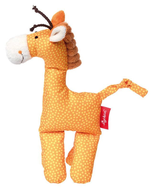 Sigikid Cuddly Giraffe Orange