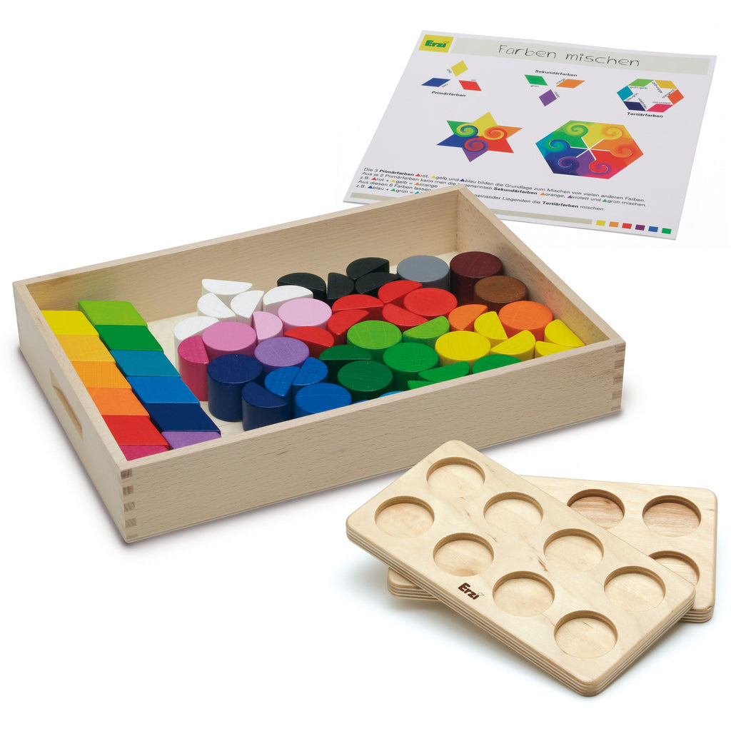 Erzi Toys UK Theory Game Colour Mixing