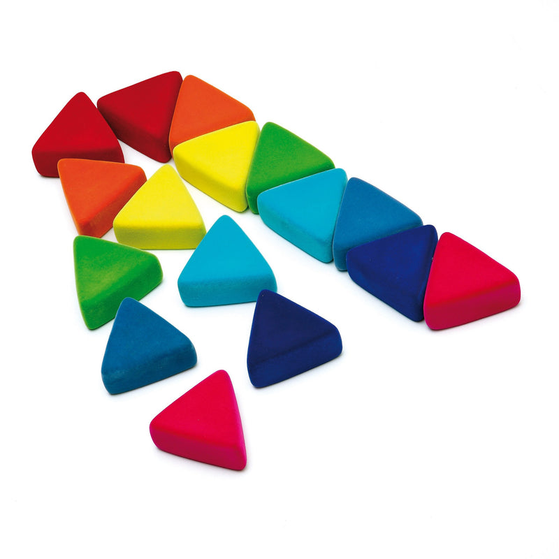 Erzi Toys UK Rubbablox Triangle