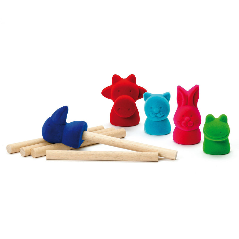 Erzi Finger Puppets Animals - Da Da Kinder Store