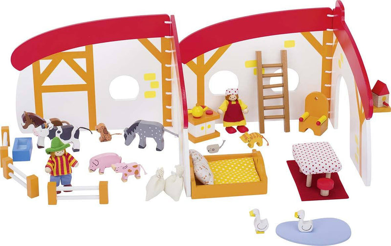 Goki Doll's House on the farm - Da Da Kinder Store
