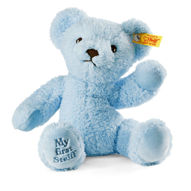 Steiff My First Teddy Bear, Blue - Da Da Kinder Store