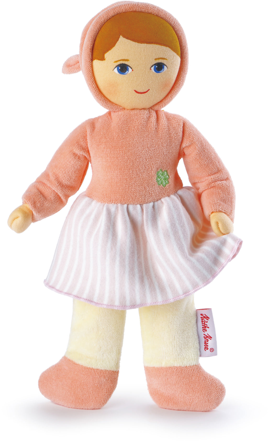 Kathe Kruse Good Luck Angel Terry Cloth Baby Apricot