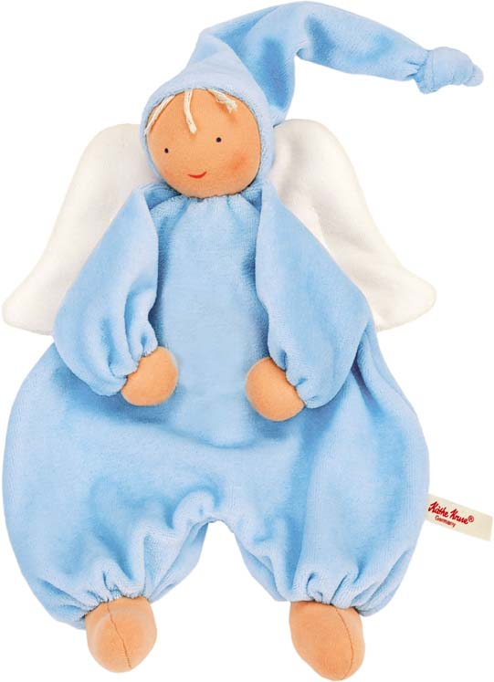 Kathe Kruse Organic Gugguli Angel Light Blue