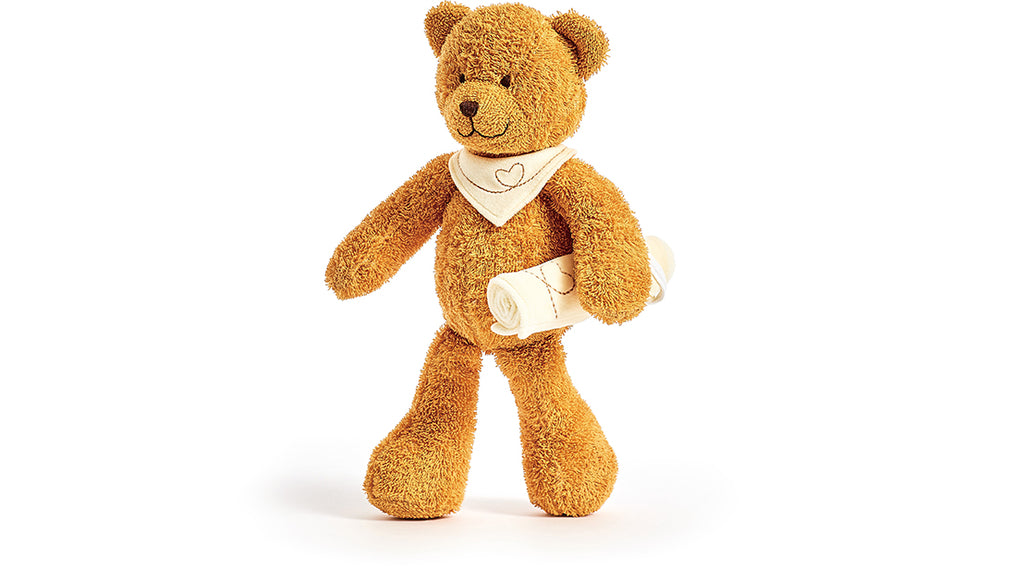 Kathe Kruse Bear Caramel Dangle - Da Da Kinder Store