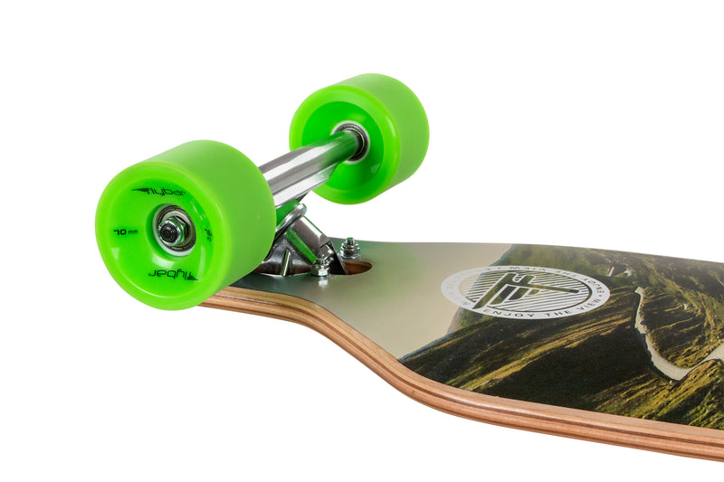 "Flybar 41"" Drop-Through Complete Longboard, Down Hill - Da Da Kinder Store"