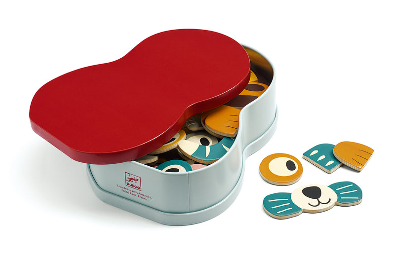 Djeco Wooden Magnetic - Animo - Da Da Kinder Store