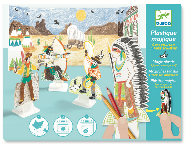 Djeco Plastic Magic - Western - Da Da Kinder Store