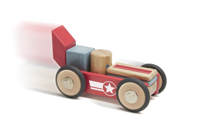 Tegu Toys Dare Devil Magnetic Wooden Block (Pack of 12)