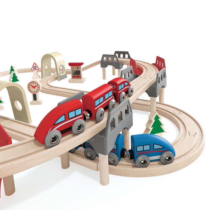 Hape High & Low Railway Set