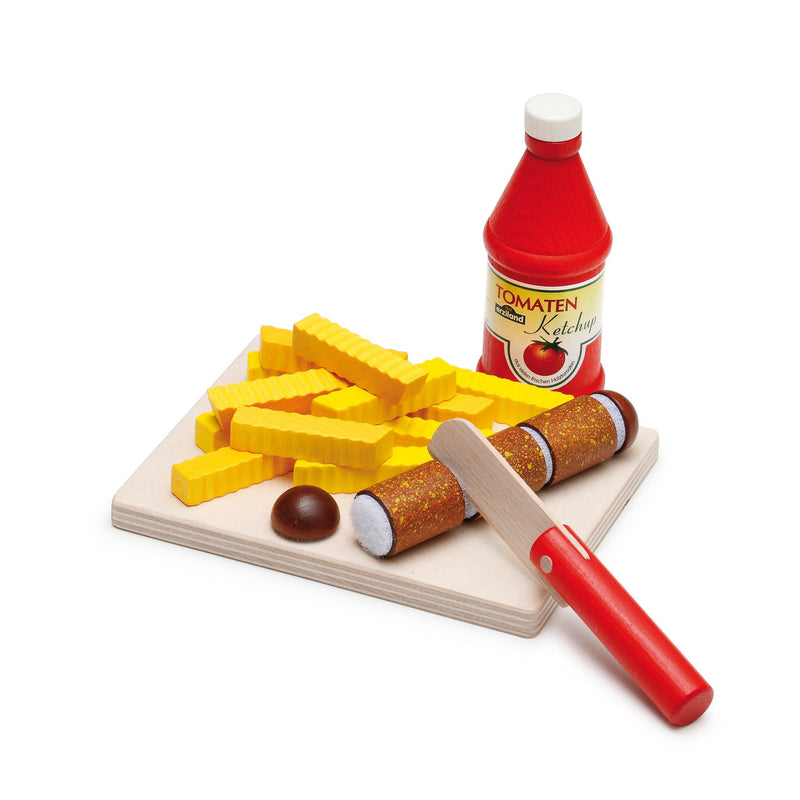 Erzi Toys UK Cutting Set for Curry Sausage