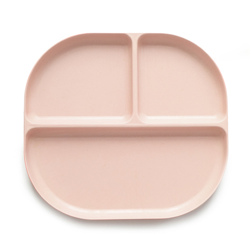 EKOBO Bambino Divided Tray, Blush - Da Da Kinder Store