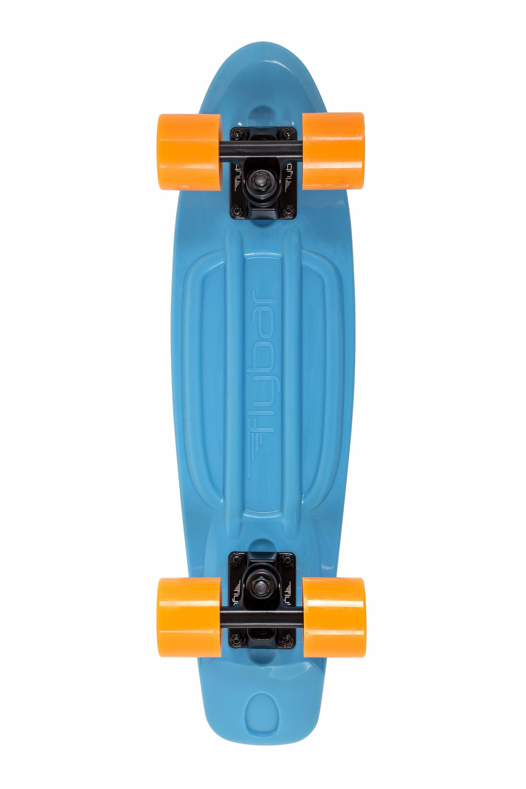 "Flybar 22"" Complete Plastic Cruiser Skateboards- Blue, Orange - Da Da Kinder Store"