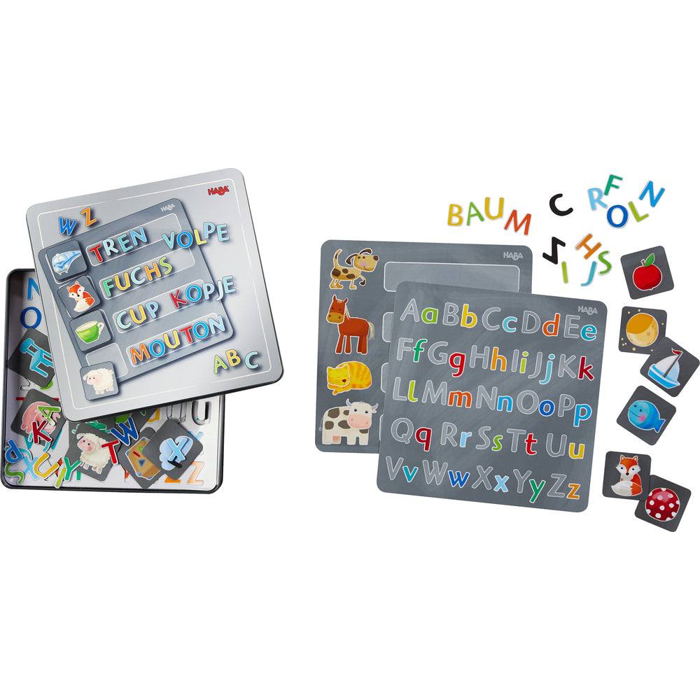 HABA Magnetic game box Alphabet - Da Da Kinder Store