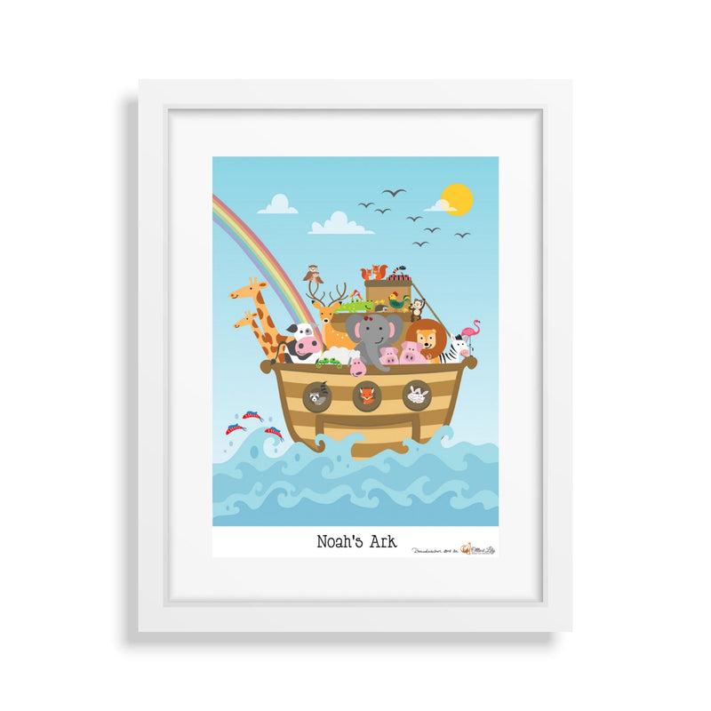 Ollie & Lily Noah's Ark Poster