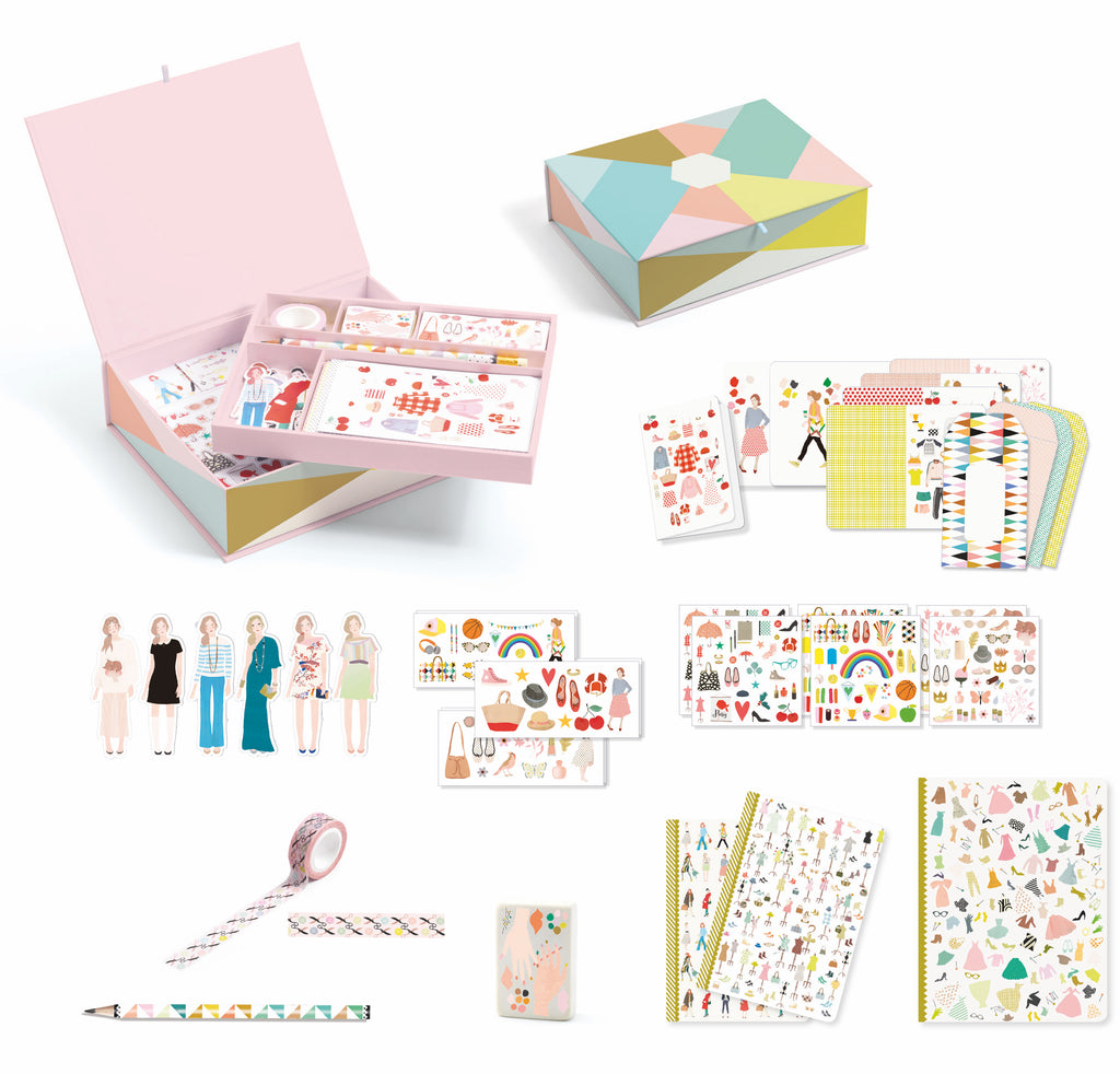 Djeco Stationery -My Stationery Tinou