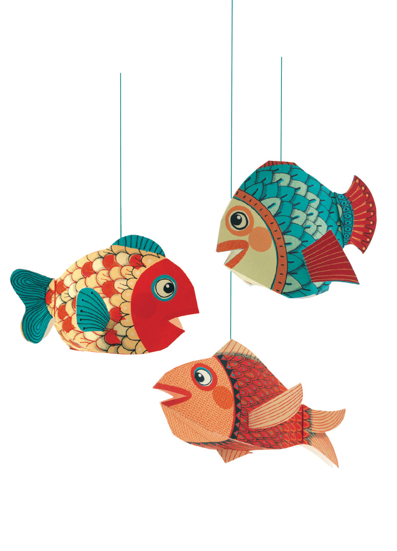 Djeco Lightweights To Hang - Little Fishes