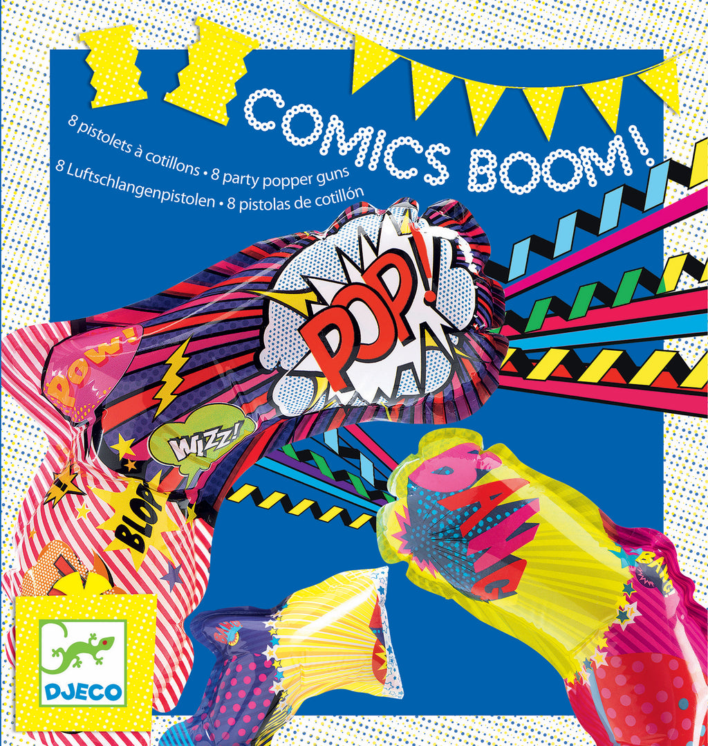 Djeco Birthday Game - Comics Boom - Da Da Kinder Store