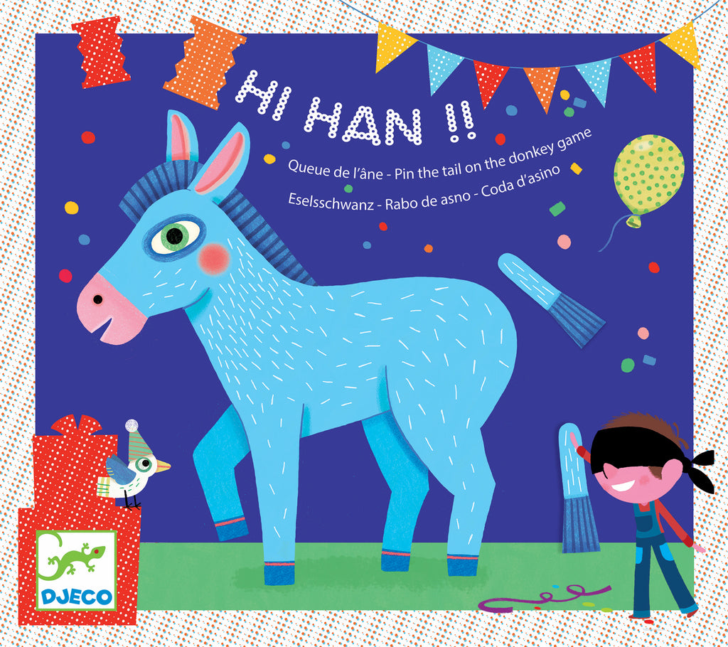 Djeco Birthday Game - Hi! Han!