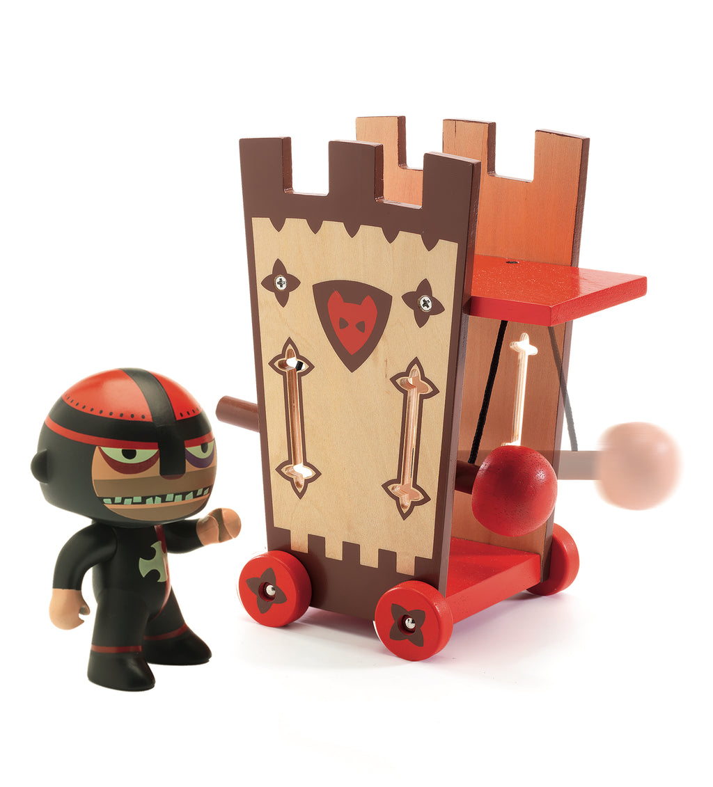 Djeco Arty Toys Knights - Darius & Ze Attack Tower