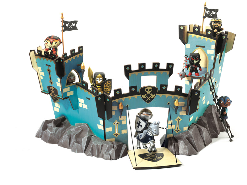 Djeco Arty Toys Knights - Castle On Ze Rock - Da Da Kinder Store