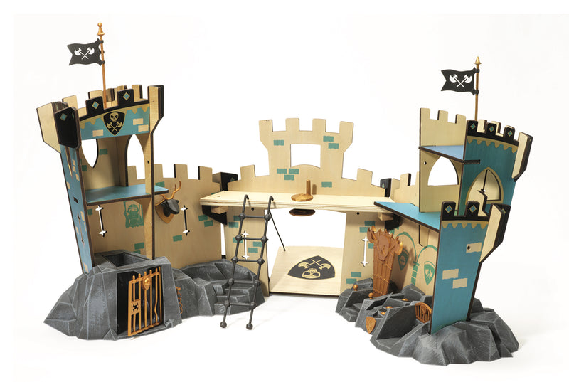 Djeco Arty Toys Knights - Castle On Ze Rock