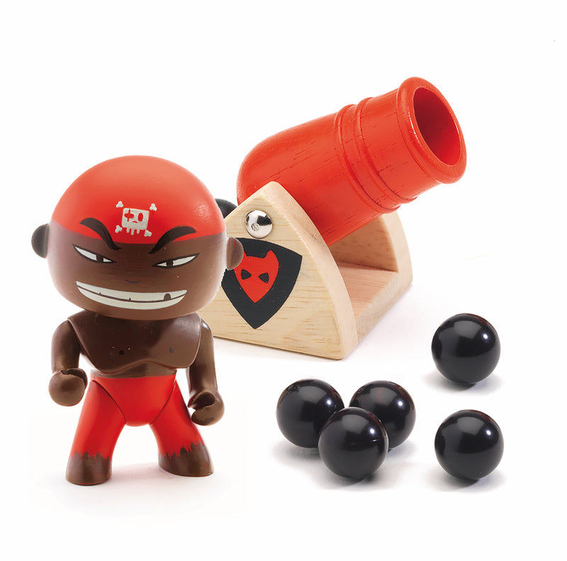 Djeco Arty Toys Pirates - Djambo & Big Boom