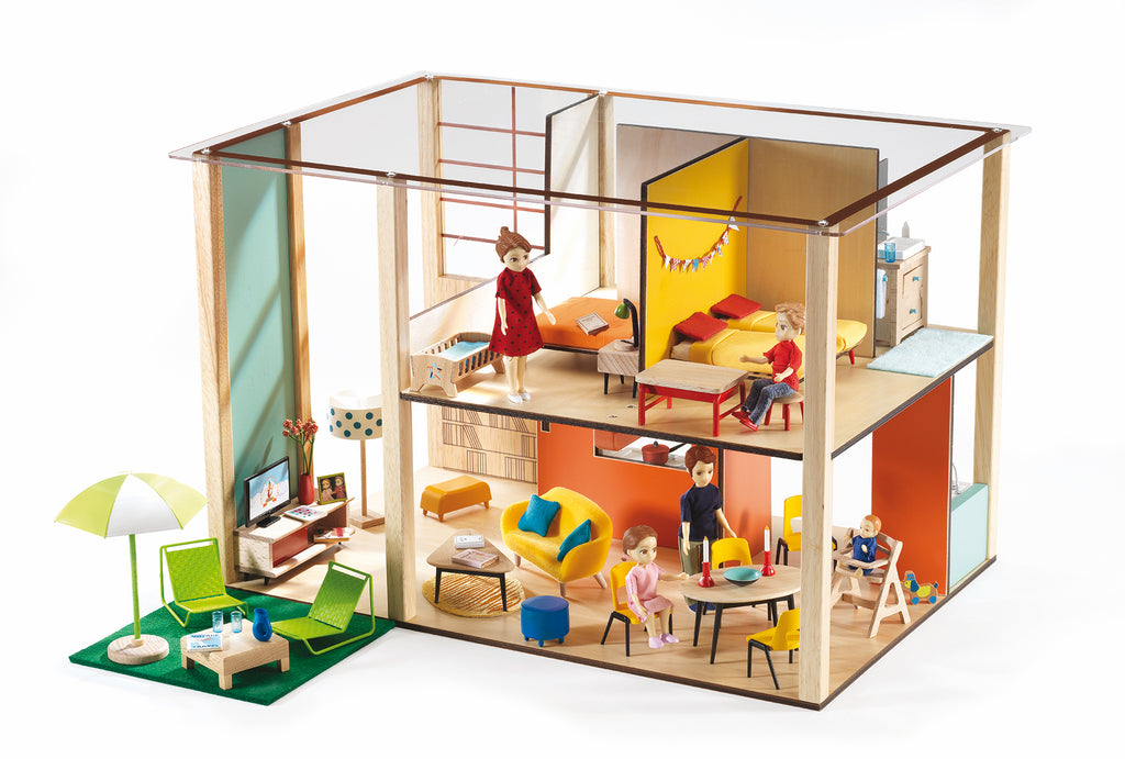 Djeco Dolls House - Cubic House