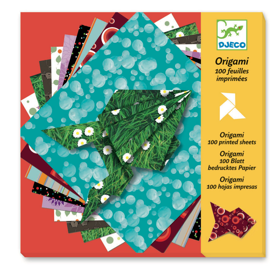 Djeco Origami - Origami Papers Comics 100 Sheets