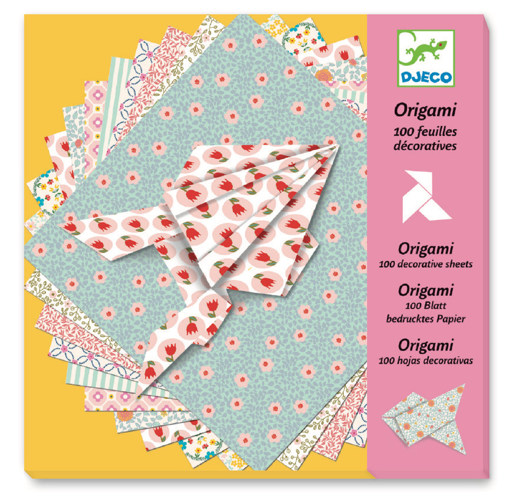 Djeco Origami - Origami Paper 100 Sheets