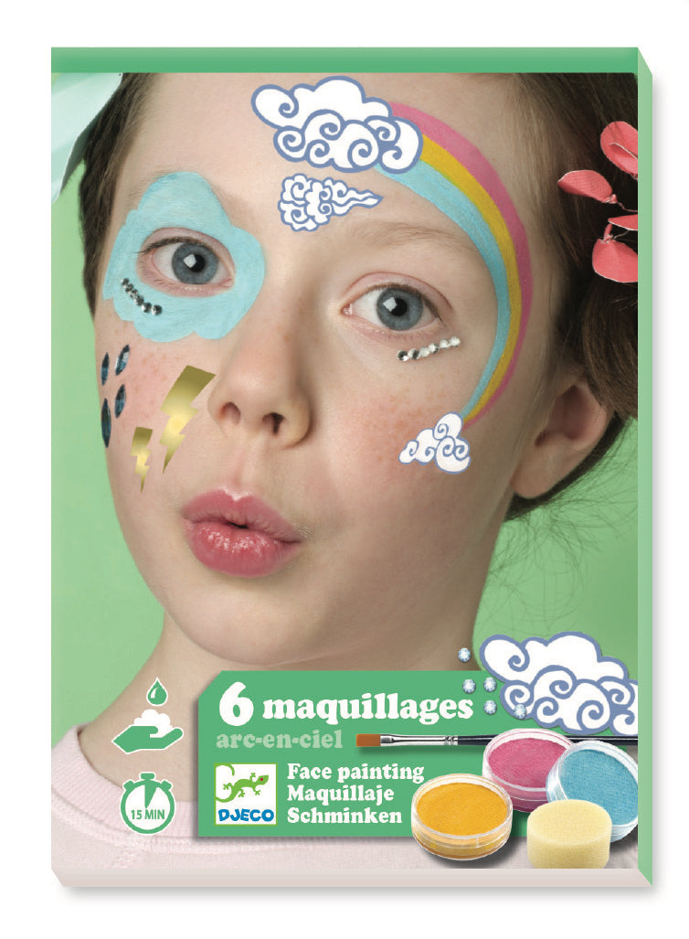 Djeco Make-Up Sets - Rainbow - Da Da Kinder Store