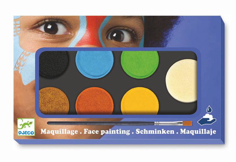 Djeco Maquillage - Palette 6 Colours - Nature