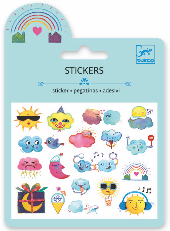 Djeco Mini Sticker - Meteo - Da Da Kinder Store